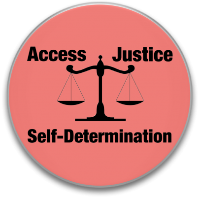 Access-Justice-Self-Determination-buttonpic
