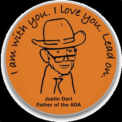 Justin Dart Father buttonpic