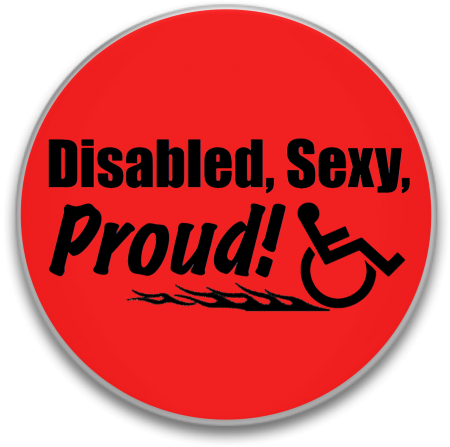 SexyProud buttonpic