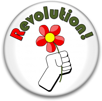 Revolution Flower buttonpic
