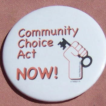 community choice button image