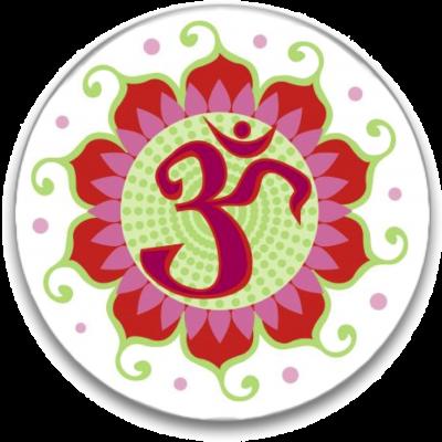 Aum Button Image