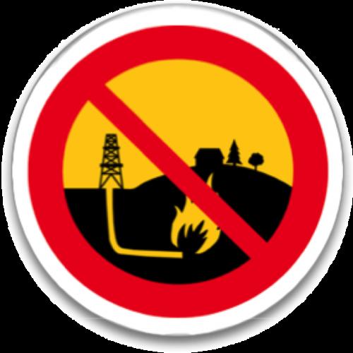 NoFracking Button Image
