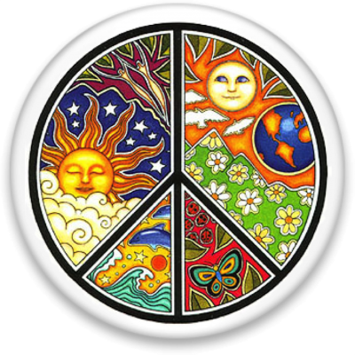 peace-cosmic Button Image
